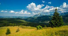 Tatry w późnopopołudniowym słońcu