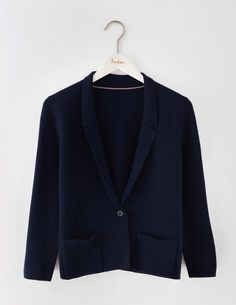 Merino Knitted Blazer