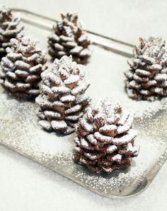 Edible pinecones