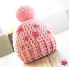 """Mütze. """"Schneeball"""" von Pinkyboo. auf DaWanda.com"""