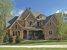 Eplans European House Plan - Enchanting Curb Appeal - 3766 Square Feet and 4 Bedrooms from Eplans - House Plan Code HWEPL68010