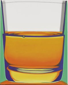 James Rosenquist    Glass of Brandy  signed and dated 'JIM ROSENQUIST 1969' (on the reverse)  oil on canvas and wood with wire  36 x 30 in. (91.5 x 76.2 cm.)  Executed in 1969.