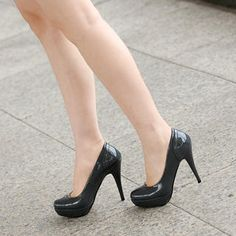 Patent Platform Pumps from #YesStyle <3 59th Street YesStyle.com.au