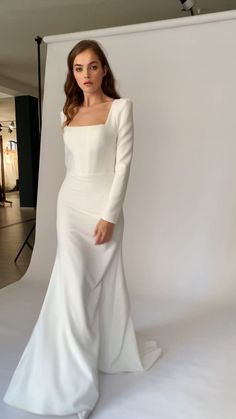 Classy Wedding Dress, Dresses To Wear To A Wedding, Classy Dress, Dream Wedding Dresses, Bridal Dresses, Bridesmaid Dresses, Elegant Dresses, Formal Dresses, Beautiful Gowns