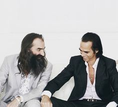Nick Cave and Warren Ellis Nike Cave, The Bad Seed, Music Pics, People Of Interest, Post Punk, Sound Of Music, My People, My Favorite Music, Man Crush