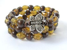Ready To Ship New Dark Wood and Faceted by SouthernStitchesCo, $29.00