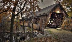 Henniker Bridge, New Hampshire