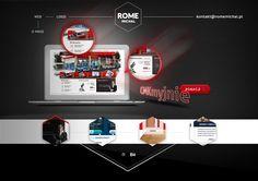 portfolio showcase by Michal Rome, via Behance
