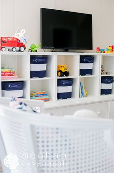 Perfect playroom style from Jana Bek Designs