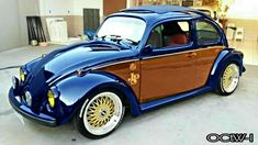 Vw Super Beetle, Beetle Car, Custom Vw Bug, Custom Cars, Vw Modelle, Carros Vw, Vw Bugs, Vw Vintage, Unique Cars