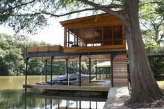 Austin Boat Docks Screen Porch 2nd Deck B Buildings