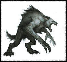 awesome+werewolf+art - Google Search