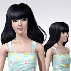 Emma's Simposium: Free Hair Pack #219 By PeggyZone - Donated/Gifted ...