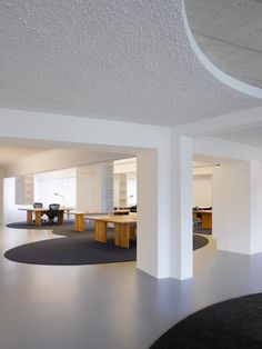 Open Plan Office with column  #openplanoffice Cubicles.com