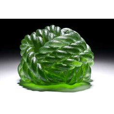 Green Knot  by Green Artist Erwin Timmers   at ecoglassart.com