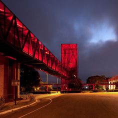 Brazilian architects Metro completed a red glass chocolate museum in the sky #Architecture