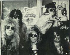 Guns N' Roses - Slash, Duff, Izzy, Steven & Axl