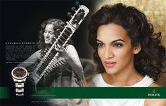 Anoushka Shankar for Rolex
