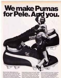 1984 Puma SPA King the first ever high visibility outsole