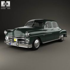Dodge Coronet sedan 1950 3d model from humster3d.com. Price: $75