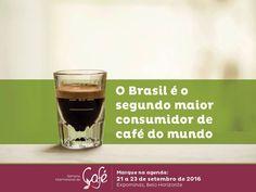 Venha saber mais durante a Semana Internacional do Café que acontece em setembro! #sic2016 #icw2016 Sistema Faemg Café Editora Sebrae Agricultura MG