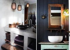 clean and rustic