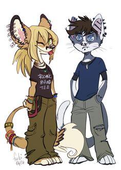 Agrafka i Tomek by Fukari.deviantart.com on @deviantART