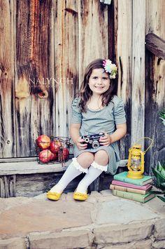 the MomTog diaries: Vintage Back to School Photo Shoot {greensboro nc childrens photographer}