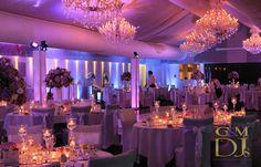 Wedding Uplighting Victoria Park Golf Club