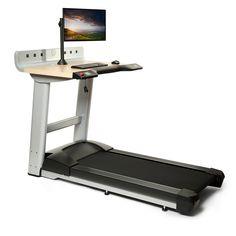 Treadmill Desk   Desk Treadmill  In Movement