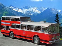 A one + two decker! Bus City, Strange Cars, Tramway, Short Bus, New Bus, Bus Coach, Bus Camper, Old Tractors, Automobile
