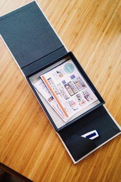 Custom Handmade Portfolio Box by CraftsByKea on Etsy