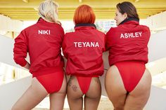 Teyana Taylor, Ashley Graham and Niki Taylor Front Swimsuit For All's Baywatch-Themed Campaign from essence.com