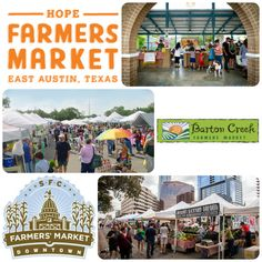 Favorite Fall Activities #2: Enjoy the bounty of the season at a farmers market!  HOPE Farmers Market, Barton Creek Farmers Market, and SFC Farmers Market Downtown are among our favorites.