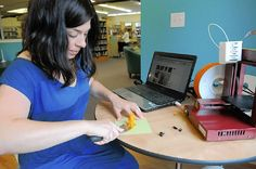 Heard Off the Street: Library's 3-D printer spits out all kinds of fun and learning  Read more: http://www.post-gazette.com/stories/business/heard-off-the-street/heard-off-the-street-librarys-3-d-printer-spits-out-all-kinds-of-fun-and-learning-691823/#ixzz2e9D16MiJ