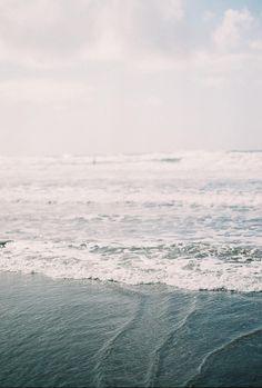 The ocean ...
