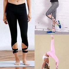 Ballet-Inspired Yoga Pants will help you reach your New Year's Resolutions and look fashionable while doing it.