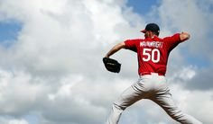 Waino is back on the mound and we couldn't be happier about it.