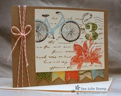 See Julie Stamp - Julie Wadlinger, Stampin Up! Demonstrator : Postage Due - FMS89