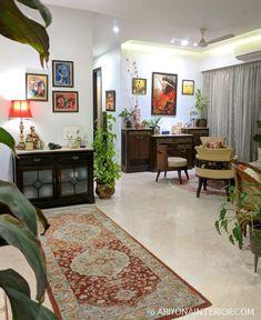 Design Living Room, Home Room Design, Home Living Room, Home Interior Design, India Home Decor, Ethnic Home Decor, Home Decor Furniture, Home Decor Bedroom, Indian Room Decor
