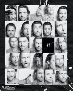 Brad Pitt shot by Frank W. Ockenfels