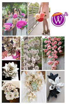Paper Flower Power - 21 Inspiring inspirations - www.weddzer.com