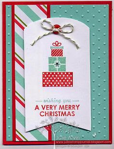 Julie's Stamp Journal: Simply Created Merry Little Christmas share