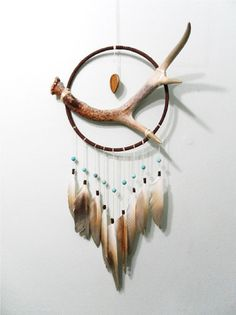 7 Antler Dream Catcher : Naturally & Locally by TheOceanBohemian