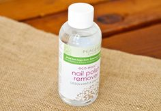 #Vegan nail polish remover from PeaceKeeper Cause-Metics $7.70