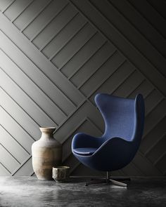 Egg chair designed by Arne Jacobsen. Launched by Republic of Fritz Hansen. fritzhansen.com