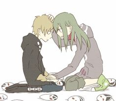kagerou project kano & kido.... this picture is too sweet :(