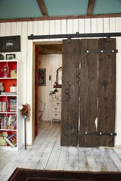 love wooden sliding doors