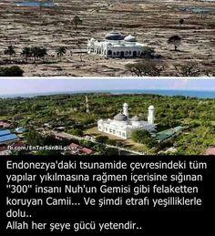 Neşe'nin gözdeleri Allah Islam, Open Your Eyes, Did You Know, Religion, Tsunami, Quote, Culture, Knowledge, Tsunami Waves
