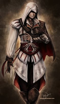 ninjatic | Ezio Assassins Creed 2 by Ninjatic - ~ Assassin's Creed ...